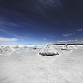 Il sale a secco crea un microclima speciale